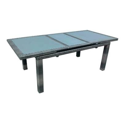 Tavolo allungabile Poitiers, 170 x 100 cm avana