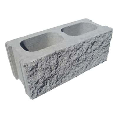Blocco cemento 2 fori 49 x 19 x 20 cm