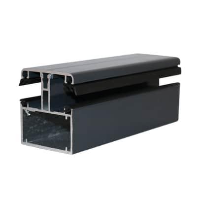 Kit di giunzione autoportante in alluminio 300 x 8  cm, spessore 2 mm
