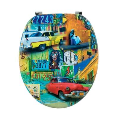 Copriwater Cuba Color decoro fantasia