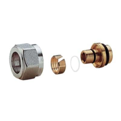 Adattatore per valvola per tubo multistrato da 16x2 mm