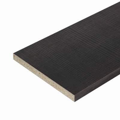 Pannello melaminico rovere scuro 18 x 600 x 2500 mm