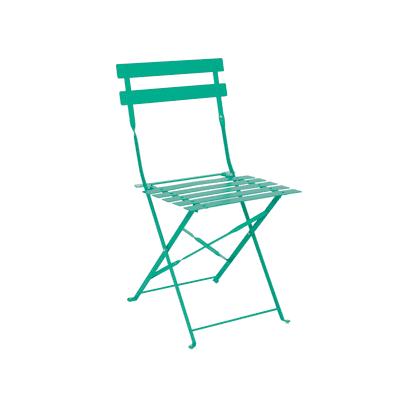 Sedia pieghevole Color verde smeraldo