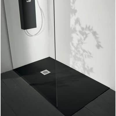 Piatto doccia acrilico Boston 100 x 70 cm nero