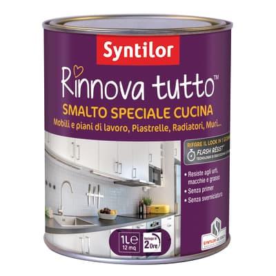 Smalto Rinnova tutto Syntilor Bianco Avorio 1 satinato 1 L