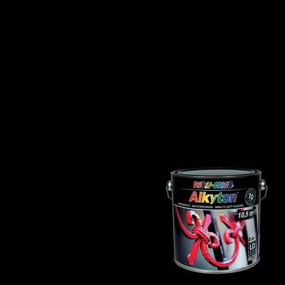 Smalto per ferro antiruggine Alkyton nero RAL 9005 brillante 2,5 L