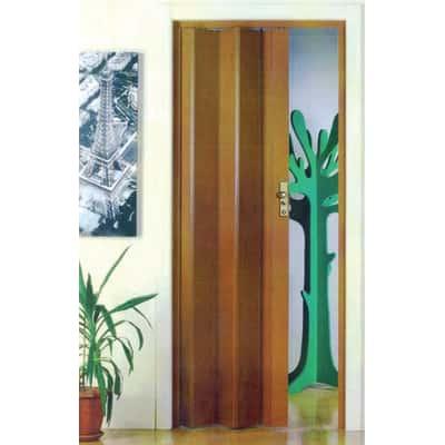 Porta a soffietto Maya legno scuro L 83 x H 214 cm prezzi e offerte ...