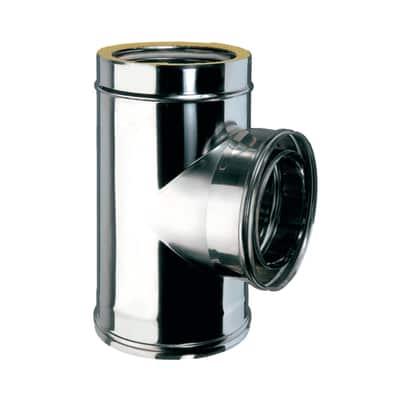 Raccordo a T coibentato acciaio inox AISI 316L