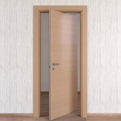 Porta da interno rototraslante Sheraton rovere naturale 80 x H 210 cm dx