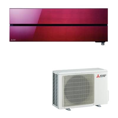 Climatizzatore fisso inverter monosplit Mitsubishi MSZ-LN25VG Wi-Fi 2.5 kW rosso