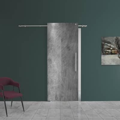 Porta da interno scorrevole Graffi 88 x H 220 cm sx