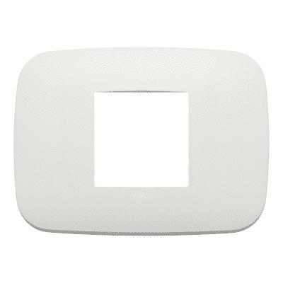 Placca VIMAR Arké 2 moduli perla matt