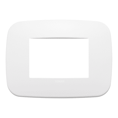 Placca VIMAR Arké 3 moduli polar matt