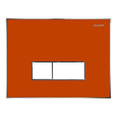 Placca di comando per wc sospeso 10001292 rosso