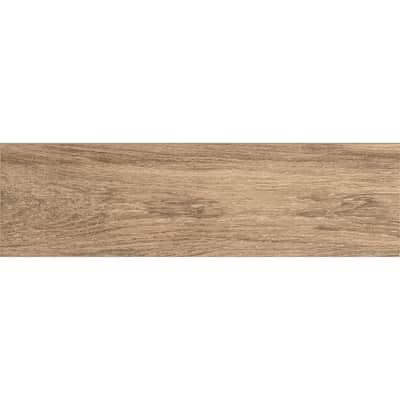 Piastrella Oak H 18 x L 63 cm PEI 4/5 marrone