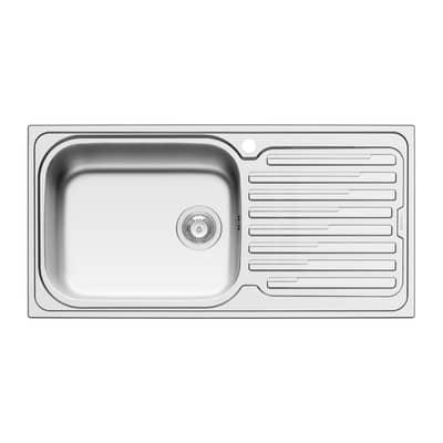 Lavello da incasso Amaltia Plus 100 x 50 cm 1 vasca con gocciolatoio