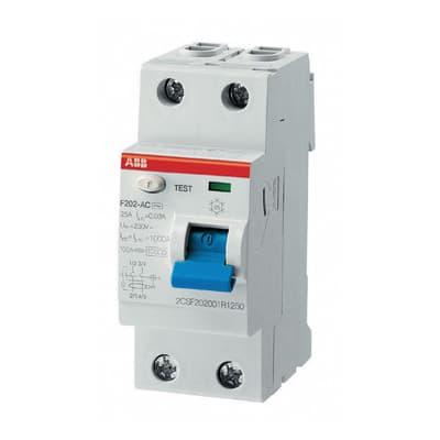 Interruttore differenziale puro ABB ELF202-40003A 2 poli 40A AC 2 moduli