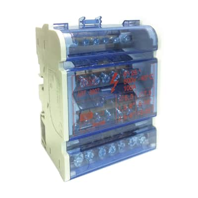 Morsettiera BM GD9907 4 moduli 400V