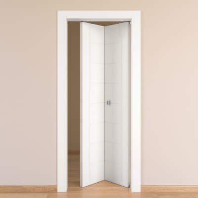 Porta pieghevole Chamberì bianco L 80 x H 210 cm destra