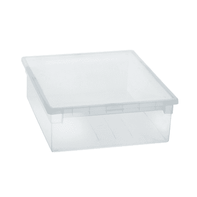 Contenitore Light Box L 37.6 x H 13.9 x P 52 cm trasparente