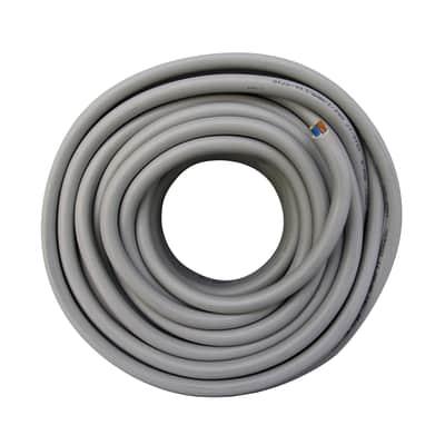 Cavo elettrico LEXMAN 5 fili x 1,5 mm² Matassa 25 m grigio