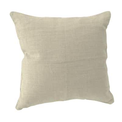 Cuscino INSPIRE Lino crema 60x60 cm