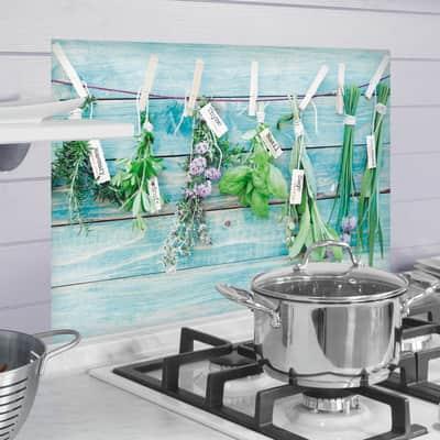 Sticker Kitchen Panel Herbes 45x65 cm