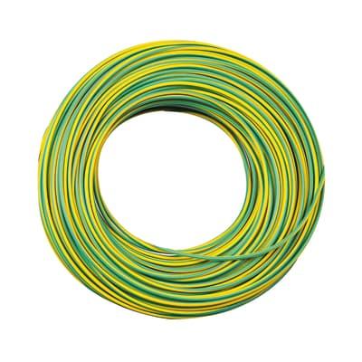 Cavo elettrico LEXMAN 1 filo x 2,5 mm² Matassa 15 m giallo/verde