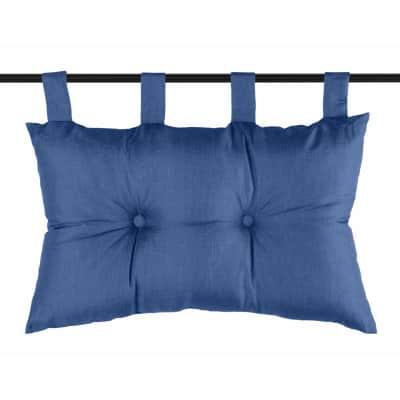 Cuscino testata letto Testata letto Bea blu 45x70 cm
