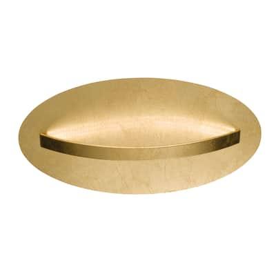Applique glamour Elis LED integrato oro, in metallo, 66x66 cm, WOFI