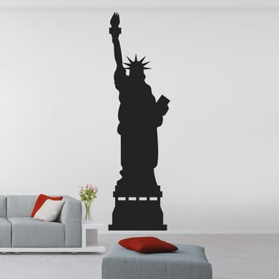 Sticker Liberty Statue 9x106 cm