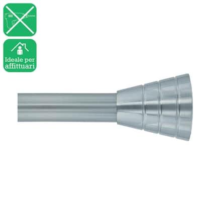 Kit bastone per tenda estensibile Ib+ in metallo Ø 25 mm grigio 200 cm