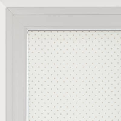 Tendina vetro Pois panna tunnel 90 x 240 cm
