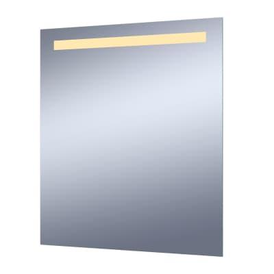 Specchio con illuminazione integrata bagno rettangolare Essential L 60 x H 70 cm SENSEA