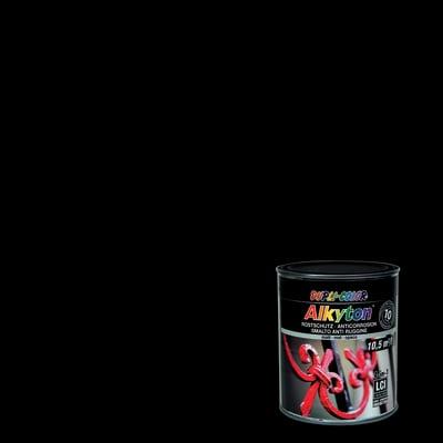 Smalto antiruggine ALKYTON Alkyton nero 0.75 L
