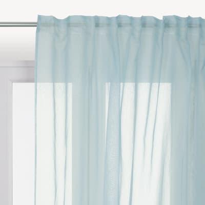 Tenda di pizzo INSPIRE Softy blu tunnel 200x280 cm
