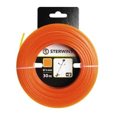 Filo STERWINS per decespugliatore L 30 m Ø 3 mm