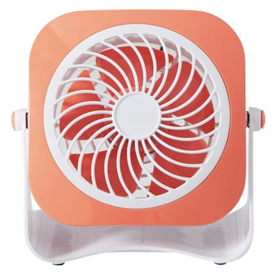 Ventilatore EQUATION Yea  rosso 3 W Ø 10 cm