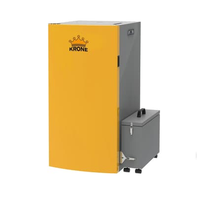 Caldaia a pellet BOILER34KR-PA arancio e grigio 31.2 W