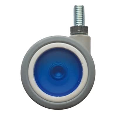 Ruota in caucciù blu Ø 40 cm