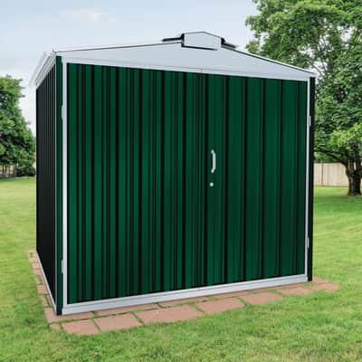 Casetta da giardino in metallo Atlanta,  superficie interna 5.78 m² e spessore parete 0.6 mm