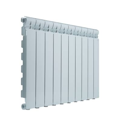 Radiatore acqua calda PRODIGE Wings in alluminio 10 elementi interasse 60 cm