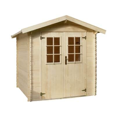 Casetta da giardino in legno Mikka 3.45 m² spessore 19 mm