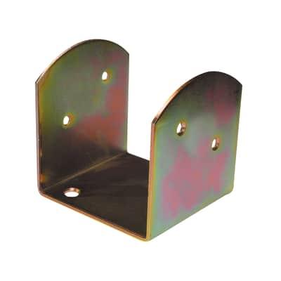 Supporto per palo Staffa in acciaio L 4.5x H 4