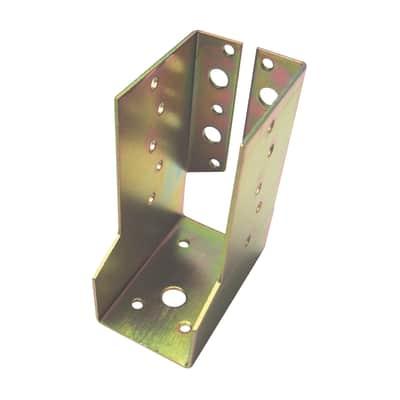 Supporto per palo   in acciaio L 4.5x H 10.8