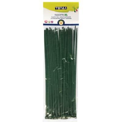 Fascetta a collare verde in pvc 29 cm x 0,48 cm 50 pezzi