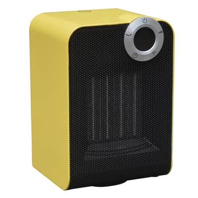 Termoventilatore ceramico mobile EQUATION Class 2 giallo / dorato 1800 W
