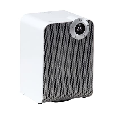 Termoventilatore ceramico mobile EQUATION Class2 KPT-150 bianco 1800 W