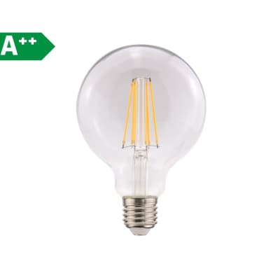 Lampadina LED E27 globo bianco naturale 8W = 1055LM (equiv 75W) 360° LEXMAN