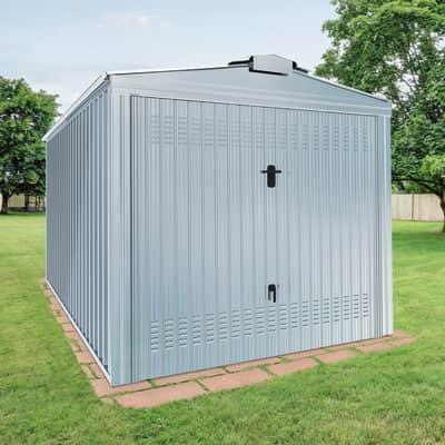 Garage in acciaio al carbonio Boston SAPIL 12.26 m², Sp 0.4 mm